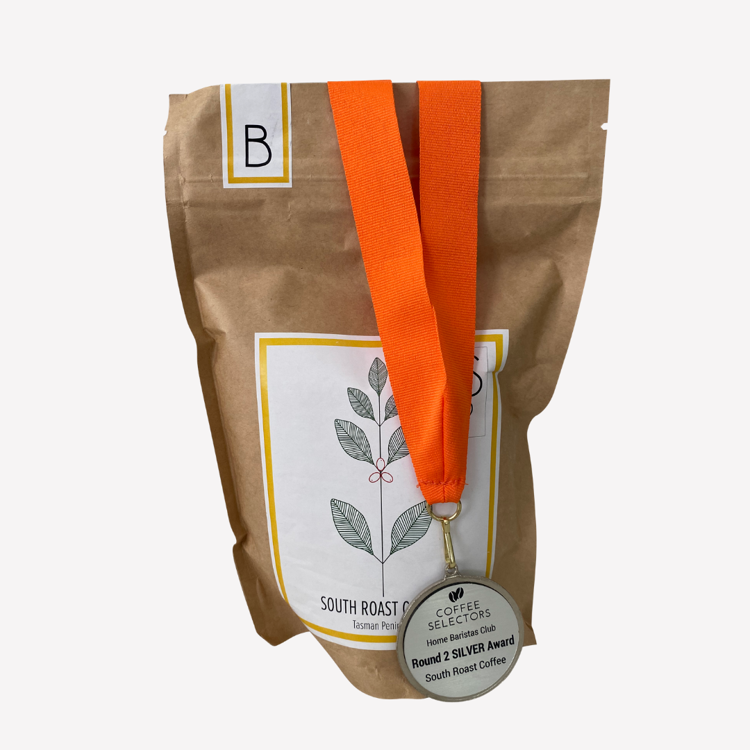 SILVER Award Medal Winner South Roast